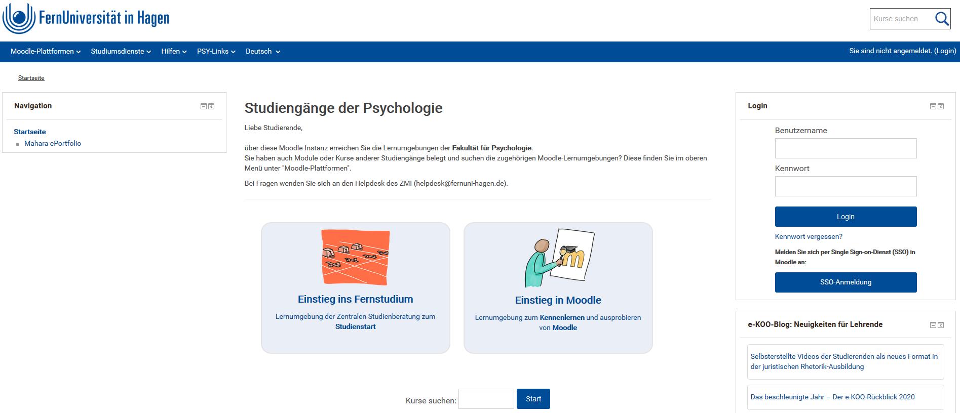 M Sc Psychologie