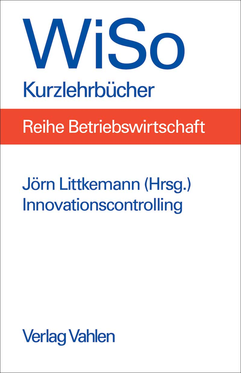Buchcover Innovationscontrolling