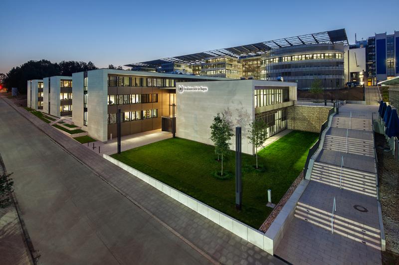 Außenansicht des KSW-Gebäudes
