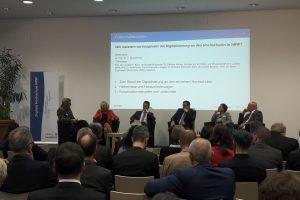 Podiumsdiskussion zum Abschluss der DH-NRW Konferenz