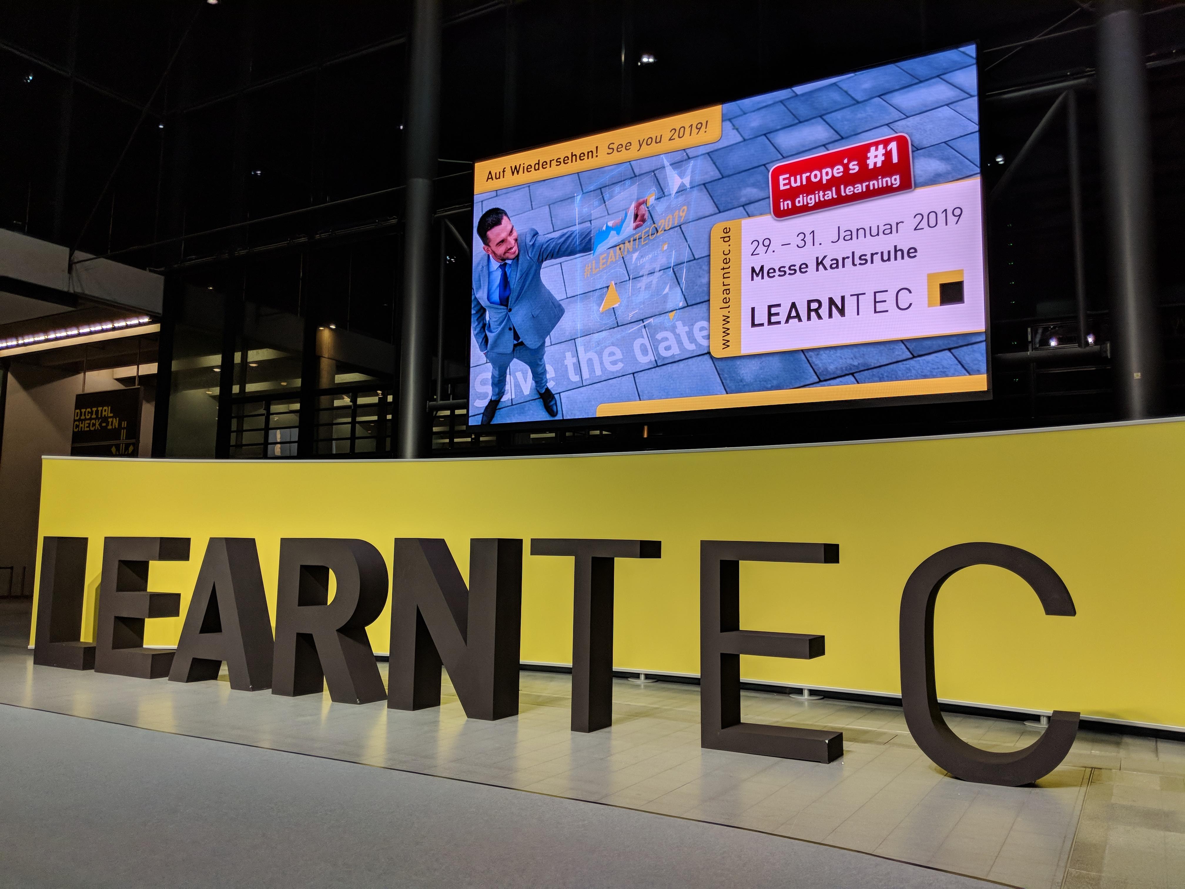Foto von Eingangshalle der Learntec
