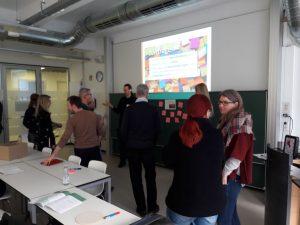 Gruppenarbeit im Workshop