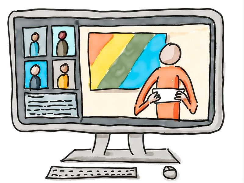E-Moderation Illustration