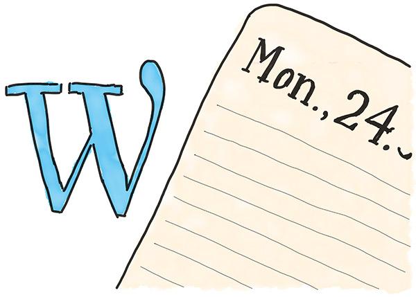 Wordpress als Blog