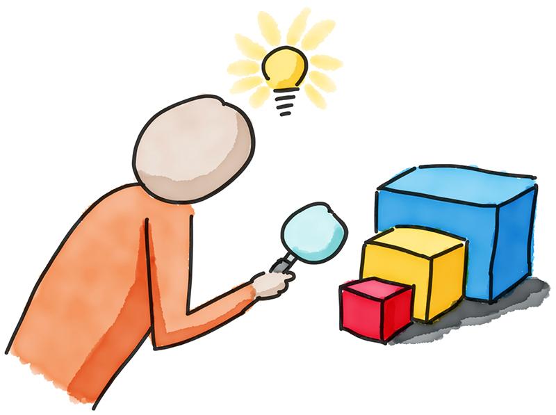 Illustration Forschendes Lernen