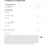 Mit LaTeX gesetzte Beispielseite