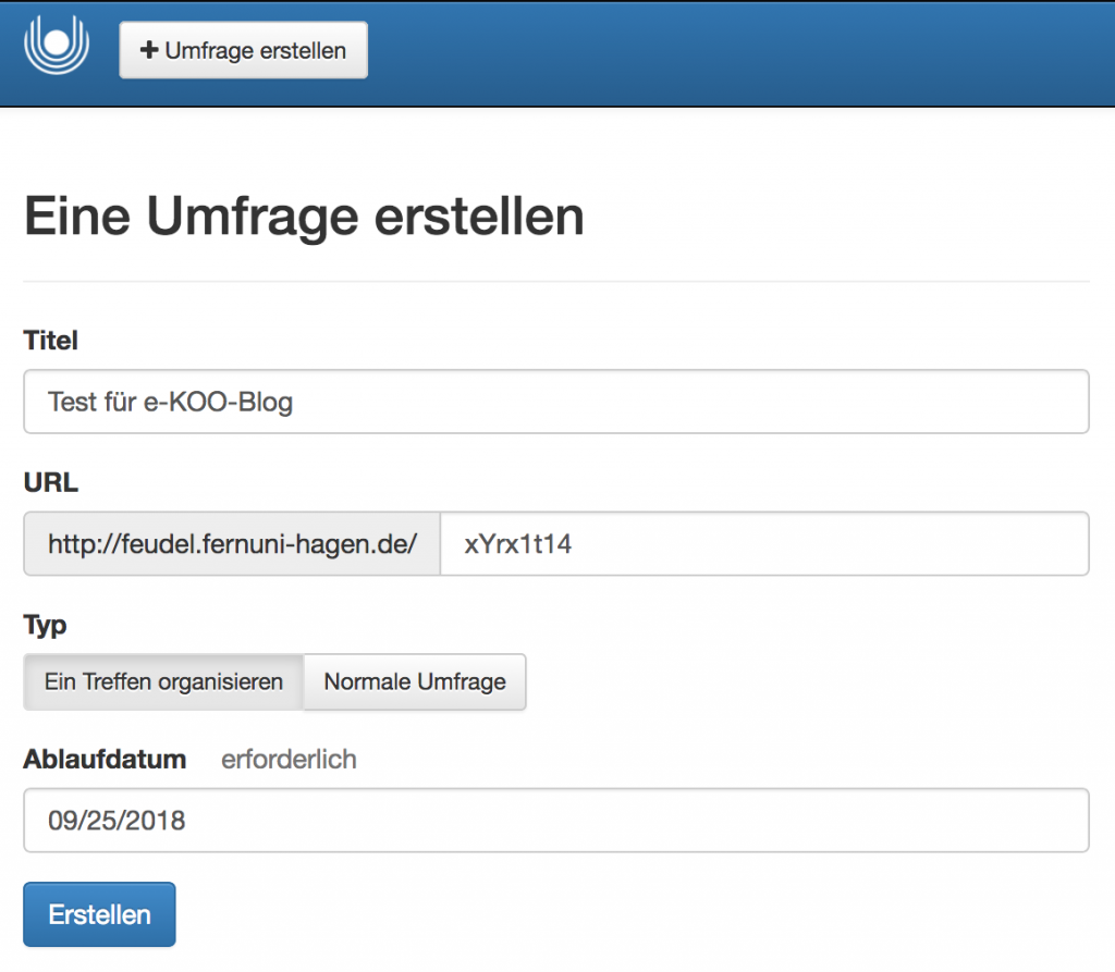 feudel Startseite Screenshot