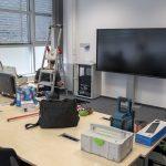 Hybridmeeting-Raum Umbau