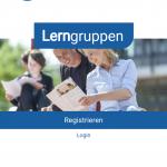 Lerngruppen App Screenshot Startseite