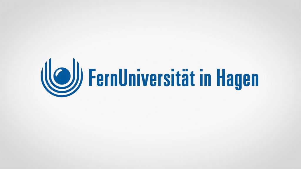 Screenshot des Vorspanns mit FernUni-Logo
