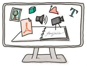 Illustration E-Portfolio