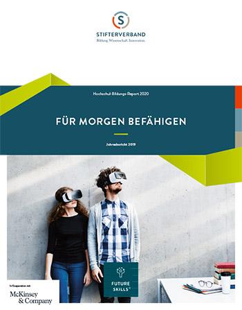 Cover des Hochschulbildungsreports