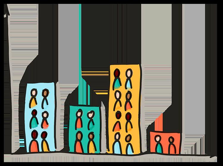 Illustration zur Lebendigen Statistik
