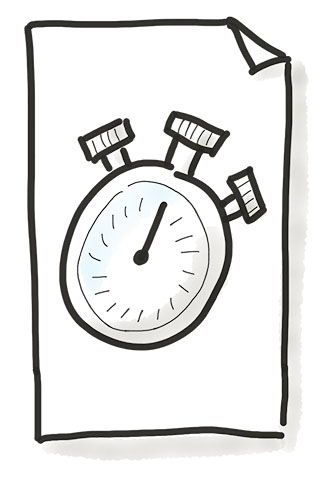 One Minute Paper Illustration