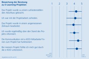 Diagramm Evaluation Projekte