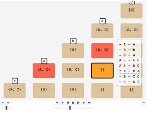 Beispiel Visualisierung Theoretische Informatik