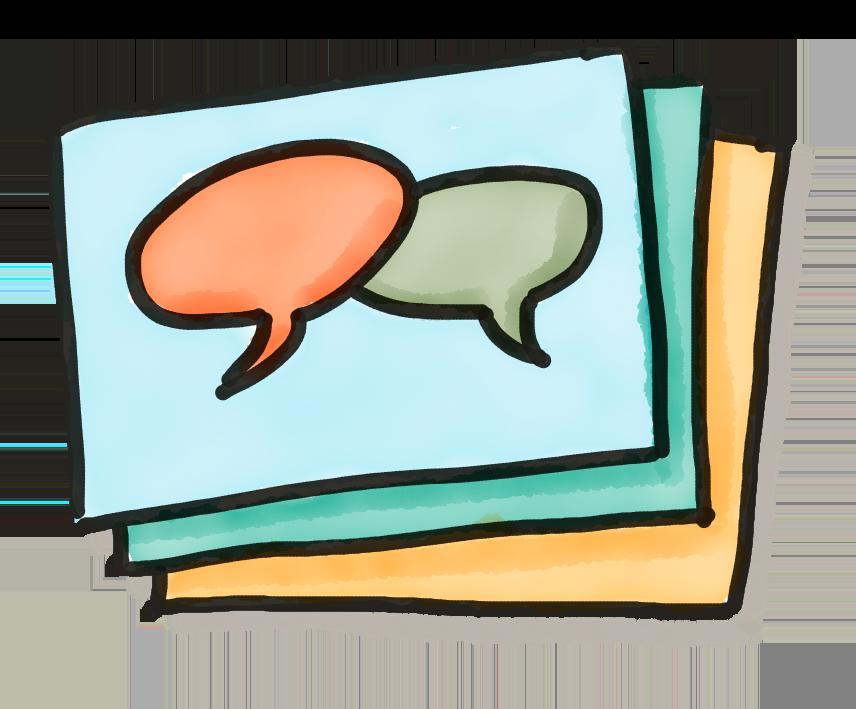 Illustration H5P Dialog Cards