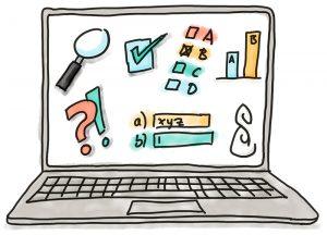 Illustration E-Assessment