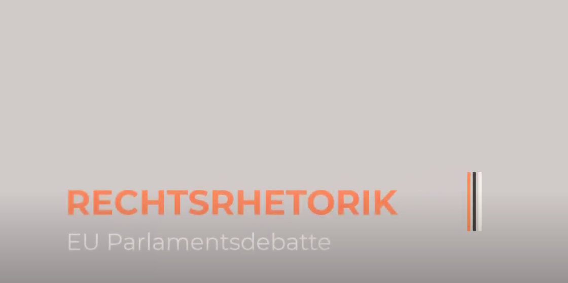 "Screenshot aus dem Video mit dem Titel ""Rechtsrhetorik"""