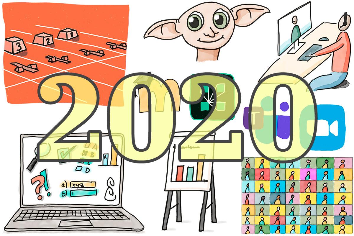Illustration Jahresrückblick 2020