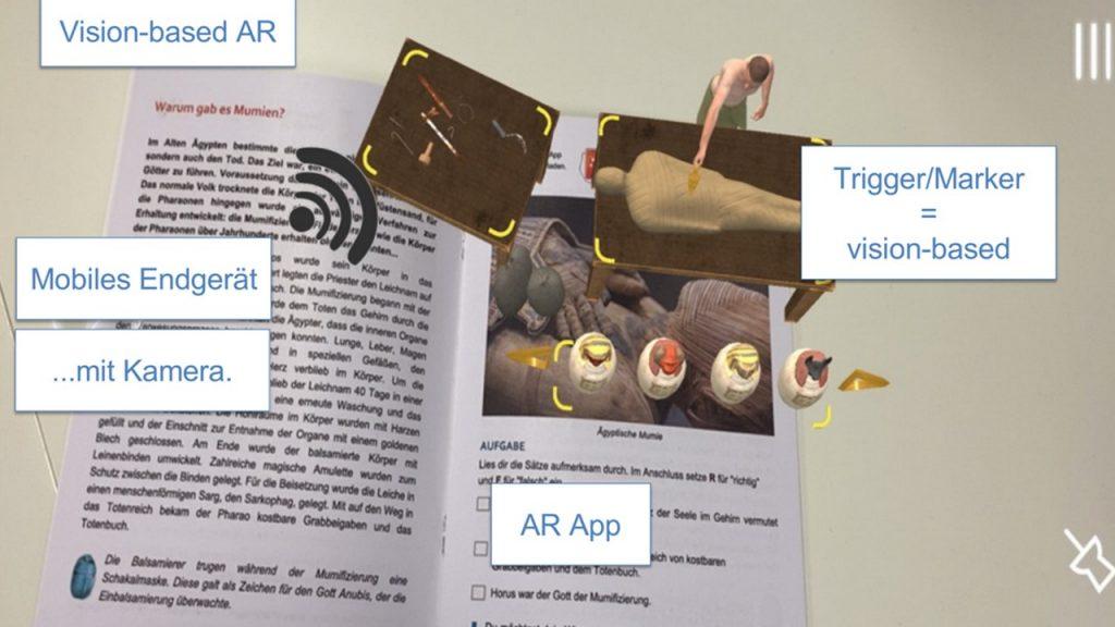 Screenshot Präsentation Buchner zu Augmented Reality