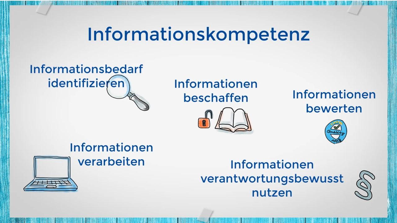 Screenshot: Video Informationskompetenz