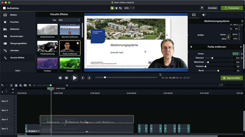 Neue Camtasia Vorlagen Screenshot
